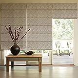 Presto Bazaar Gray Jacquard Window Blind (48 Inch X 44 Inch)