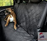 Parachute Pet Products Non-Slip Backing Wide Bench Car Seat Protector. Machine Washable & A Lifelong Promise. Black, 57