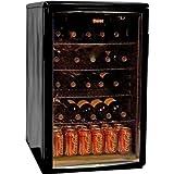 Haier HBCN05EBB 96-Can/46-Bottle Wine and Beverage Center, Black ~ Haier