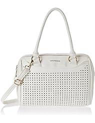 Lino Perros Women's Handbag (White) - B01HT49HO4
