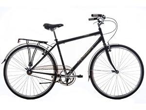 """Raleigh Varsity 2012 - Hybrid Classic Bike 22"""" Frame Gloss Black"""