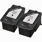 Canon PG510 & CL511 Ink Cartridges (Black & Colour) - Remanufactured for use with Canon Pixma MX320, MX330, MX340, MX350, MX360, MX410 and MX420 Printers by Carooble