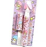 Japan Import Sanrio Litter Twin Stars Pen Shaped Battery Handy Fan