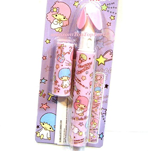 Japan Import Sanrio Litter Twin Stars Pen Shaped Battery Handy Fan