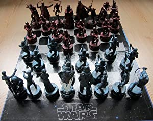 Star Wars Antique Style Chess Set Toys Games