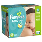 Pampers Baby Dry Size 2 Economy Pack...