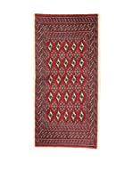 L'Eden del Tappeto Alfombra Yamut Rojo 67 x 140 cm