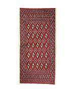 Eden Carpets Alfombra Yamut Rojo 140 x 67 cm