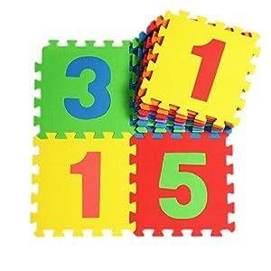 V-SOL Puzzle De Suelo EVA 10 Piezas Números