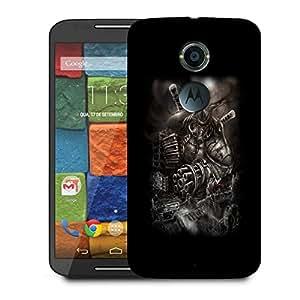 Snoogg Huge Monster Designer Protective Back Case Cover For Motorola Moto X2