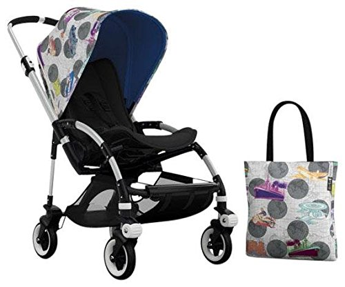 Bugaboo Bee3 Accessory Pack - Andy Warhol Transport/Royal Blue (Special Edition) - 1