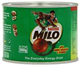 Nestle Milo Energy Cocoa Powder Drink 200 g (Pack of 6)