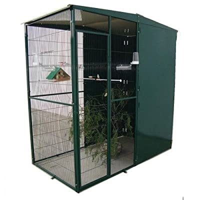 Aviary Garden Aviary 2m² with Storm 3Panels