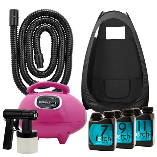 Mistified Pink Tanning Machine Fetch Dha Spray Black Tent Kit 1A front-772817