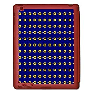 Skin4Gadgets ABSTRACT PATTERN 278 Tablet Designer RED SMART CASE for APPLE IPAD 2