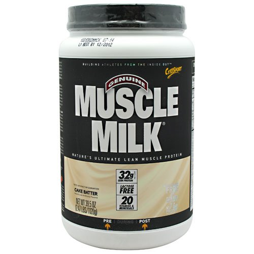 Cytosport Muscle Milk Cake Batter - 2.47 Lbs (1120 G)