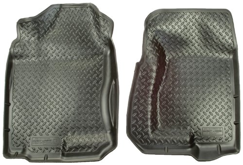 Husky Liners 31301 Black Custom Molded Front Floor Liner