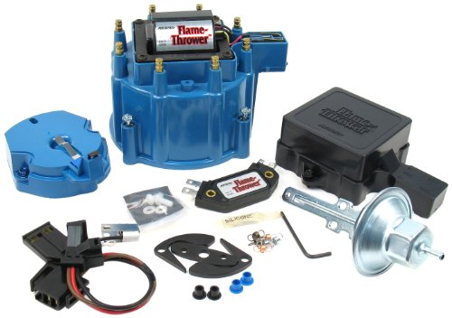 Tune Up Prices >> Pertronix D8002 Flame Thrower Blue Cap Gm Hei Tune Up Kit
