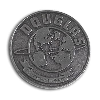 Douglas First Around The World Pin