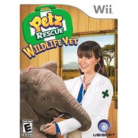 Petz Rescue Wildlife Vet Nintendo Wii