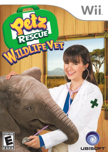 Petz Rescue Wildlife Vet - Nintendo Wii back-853964