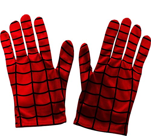 Boys Spider-Man Gloves Costume Accessories