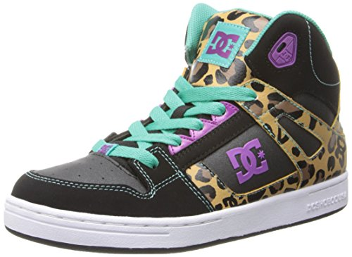Dc Rebound Se Sneaker (Little Kid/Big Kid),Leopard Print,13 M Us Little Kid front-1086719