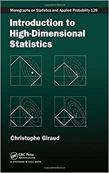 Introduction To High-Dimensional Statistics (Chapman & Hall/CRC Monographs On Statistics & Applied Probability)