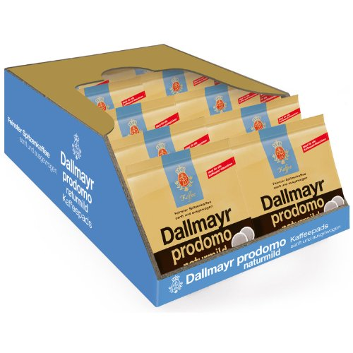 Dallmayr prodomo naturmild, Pack of 10, 10 x 16 Coffee Pods