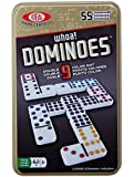 Ideal Whoa! Double 9 Color Dot Dominoes