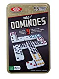Double 9 Dominoes In Tin-