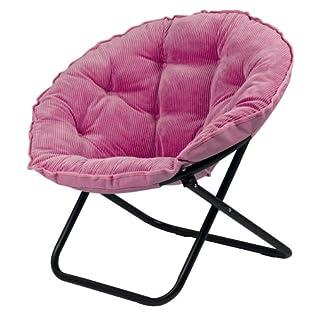 Dish Chair Sm Wale Corduroy - Pink