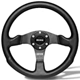 Momo COM35BK0B Competition 350 mm Leather Steering Wheel