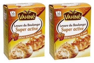 Vahiné - Levures - Levure du Boulanger super active - lot de 2