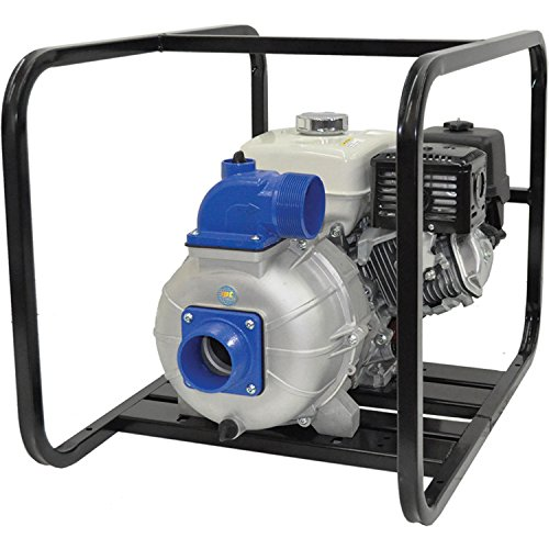 """Amt 3S9Xzr 3"""" Aluminum Trash Pump, 8Hp Hatz Diesel 1B40, 540 Gpm, 43 Psi, Sic/Sic Fkm Seal"""