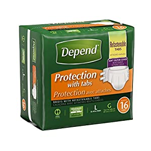 Depend Fitted Protective Briefs, Maximum Protection by Depend
