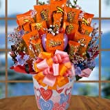 Lovin Reese's Valentines Day Candy Bouquet Gift Basket