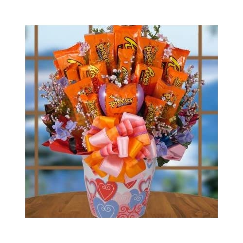 Chocolate Madness Traditional Candy Gift Basket | Birthday Gift Idea