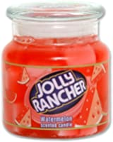 Jolly Rancher by Hanna's Candle 14.75-Ounce Jolly Rancher Watermelon Jar Candle