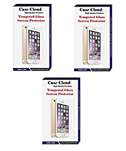 [Pack of 3] Case Cloud High Quality Screen Protector Tempered Glass for Htc One M8