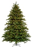 Barcana 7.5-Foot Alaskan Fir Deluxe Christmas Tree with Patented Christmas Light Changer with 1900 Clear and Mini
