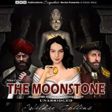 The Moonstone Audiobook by Wilkie Collins Narrated by Philippe Duquenoy