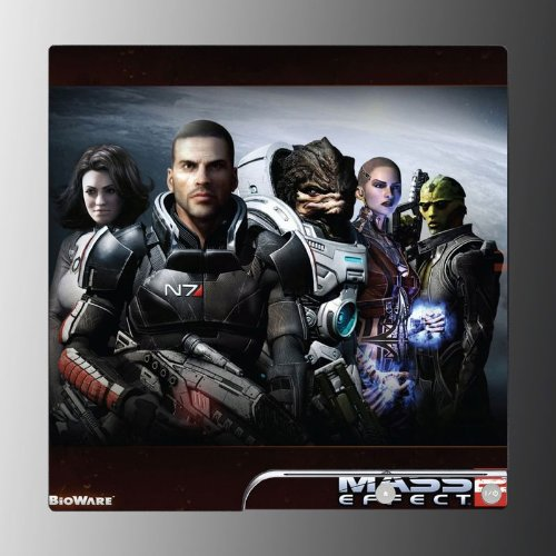 Mass Effect 2 FPS RPG game Vinyl Decal Skin Protector Cover for Sony Playstation 3 PS3 Slim