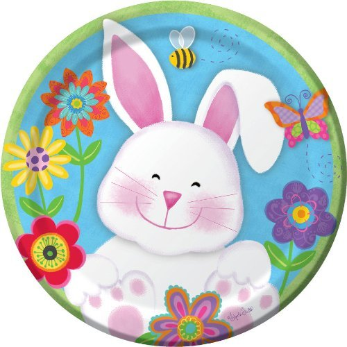 Chubby Bunny Easter Paper Plates 7-inch (24 Count) Chubby Bunny Easter Theme Includes 24 Dessert Plates 7\  Round Plates  sc 1 st  Easter Wikii - Blogger & Easter Party Plates   Easter Wikii