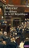 img - for Nouvelle Histoire de la France contemporaine, tome 10 : Les D buts de la troisi me R publique, 1871-1899 book / textbook / text book