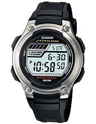 Casio Youth Digital Digital Black Dial Men's Watch - W-212H-1AVDF (I074)