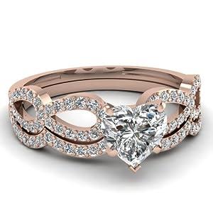 ct heart shaped diamond cute swirl