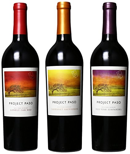Project Paso Red Wine Mixed Pack, 3 X 750 Ml