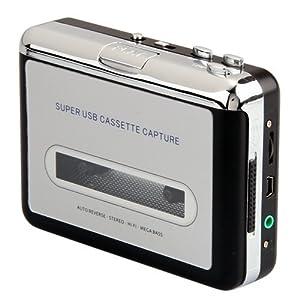 Audio Cassette USB Tape Converter para MP3 PC Reproductor de CD - Electrónica Comentarios de clientes y más noticias