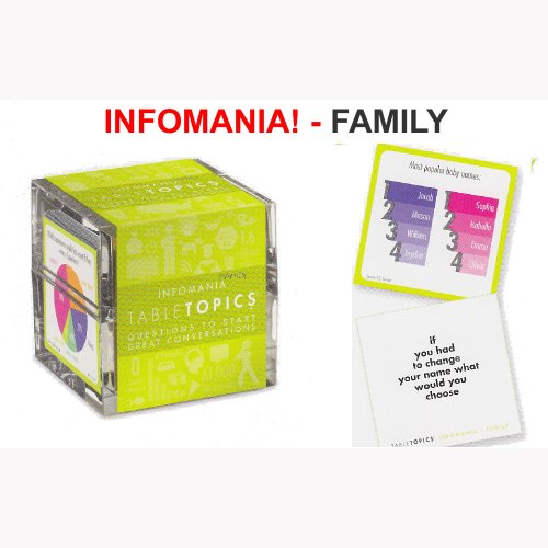 Infomania – Family Game From Table Topics – Conversation and Info